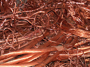 we want copper scrap milberry